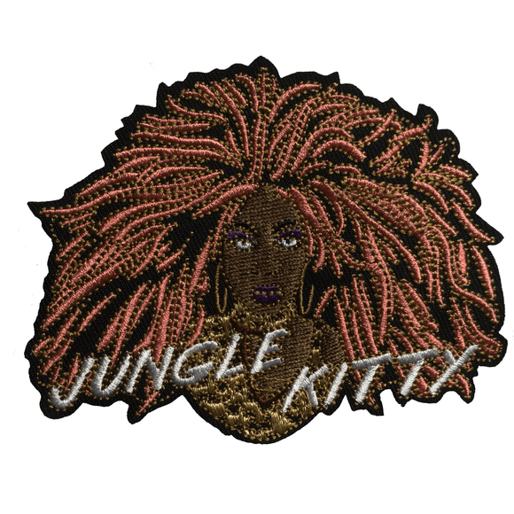 OFFICIAL BEBE ZAHARA BENET 'JUNGLE KITTY' iron-on PATCH