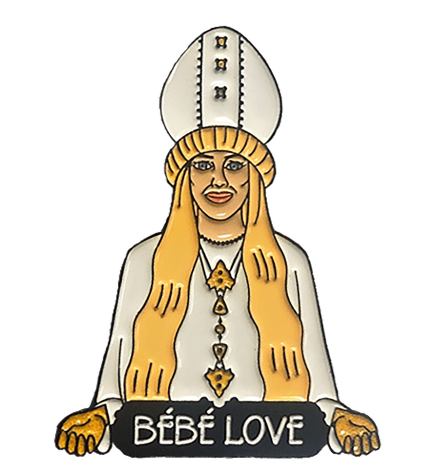 Bébé Love Enamel Pin