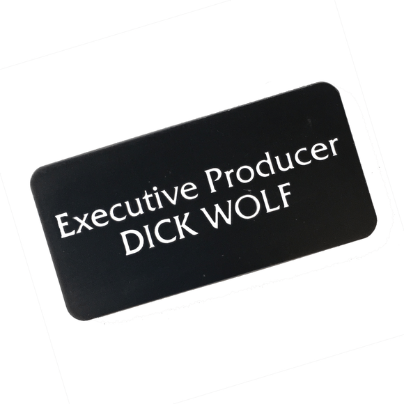 'EXECUTIVE PRODUCER DICK WOLF' PIN