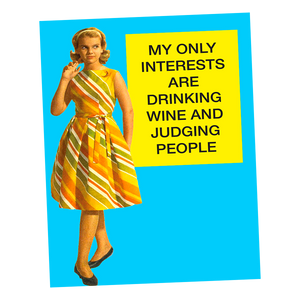 Interests Greeting Card