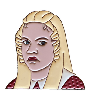 Jan Brady Enamel Pin