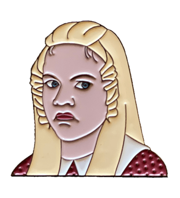 'Sure, Jan' Jan Brady inspired by the Brady Bunch Enamel Pin w/FREE SHIPPING