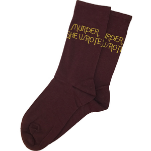 MURDER SHE WROTE Socks w/Free Shipping