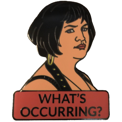 Nessa from Gavin and Stacey Enamel Pin