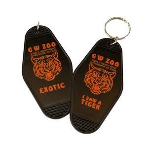 GW Zoo Tiger King Key Tag
