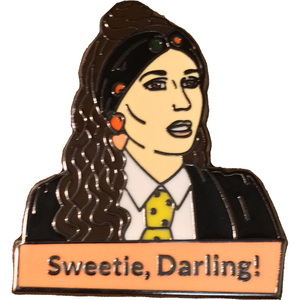 Eddie 'Sweetie, Darling!' Enamel Pin