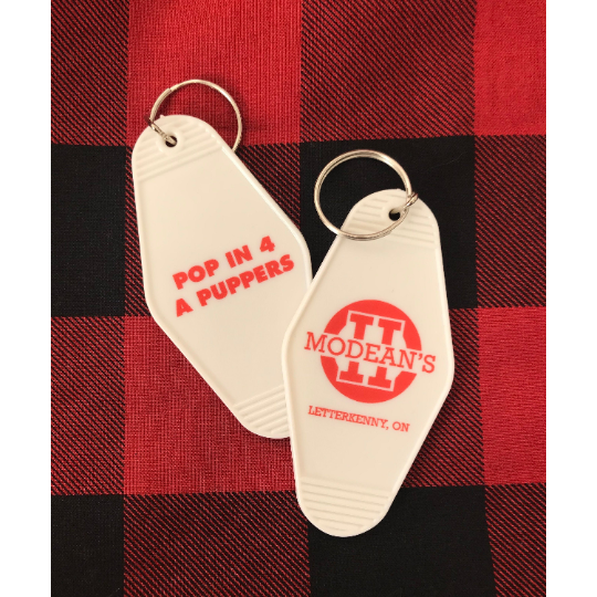 MODEAN'S II VINTAGE KEYTAG INSPIRED BY LETTERKENNY w/FREE SHIPPING ***BACK IN STOCK!!!