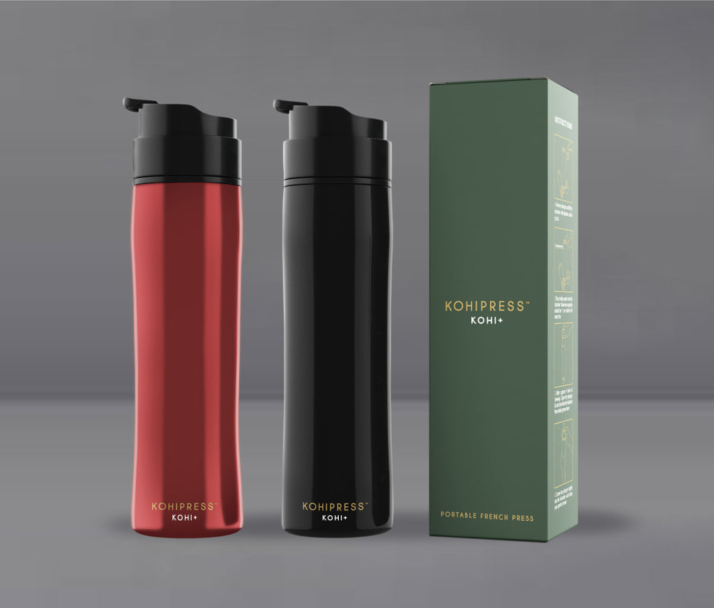 KOHIPRESS: Portable French Press Travel Mug