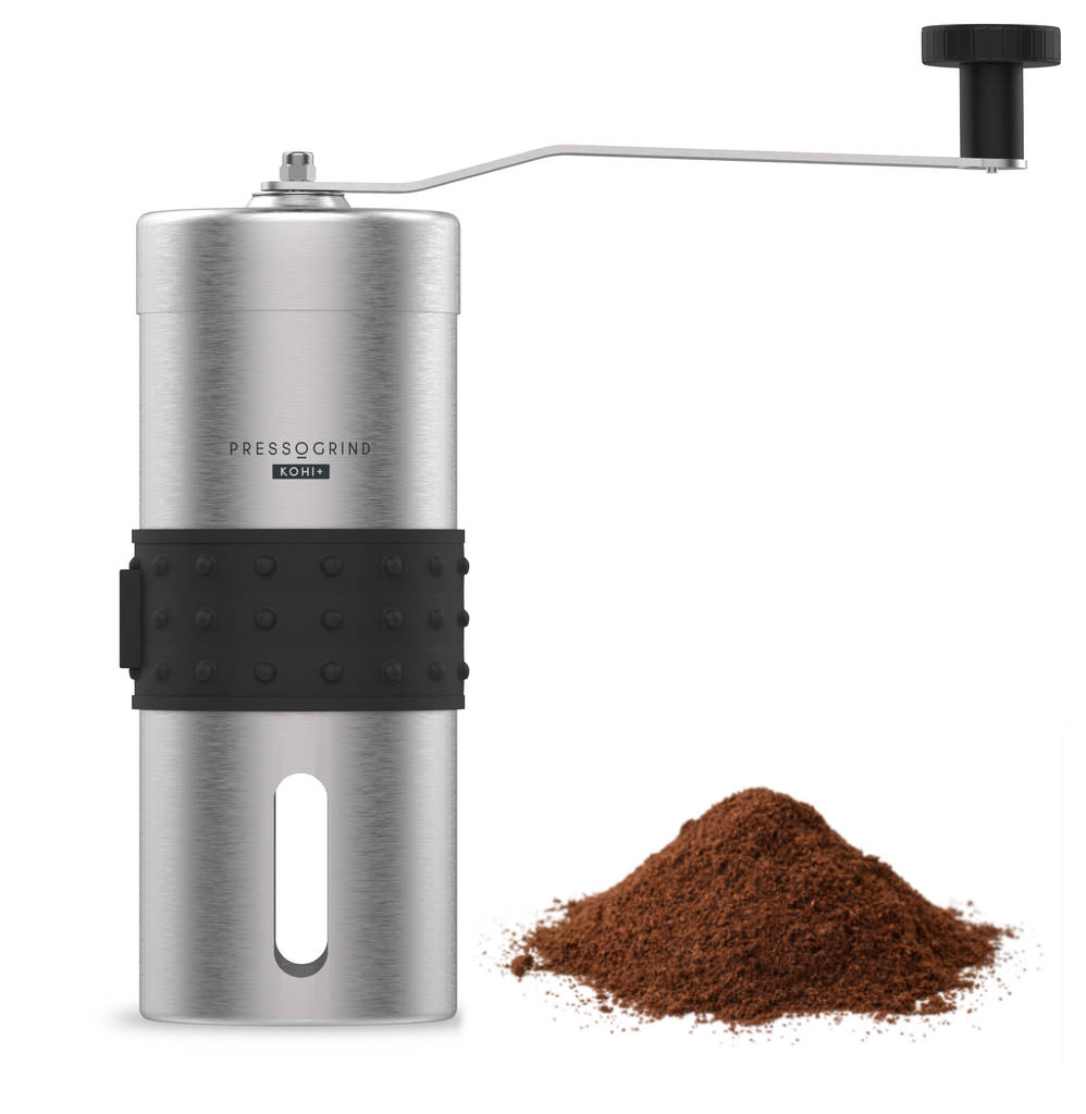 PRESSOGRIND: Manual Conical Burr Coffee Grinder