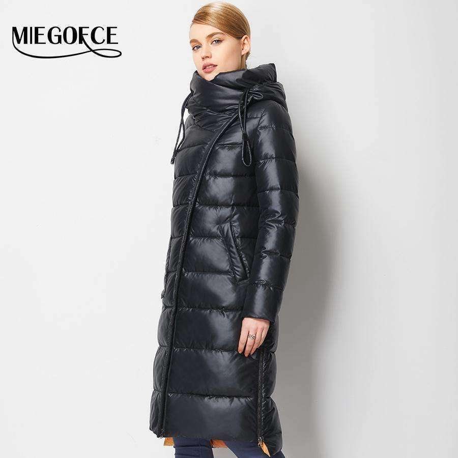 Coat Hight Quality Female MIEGOFCE New Collection - sale44