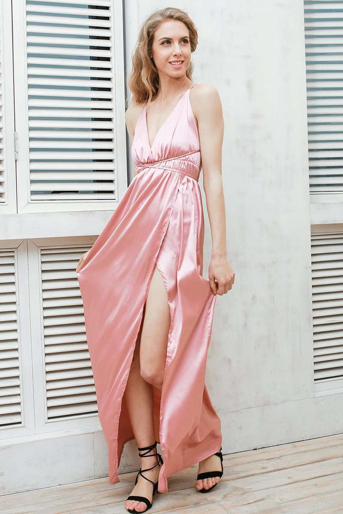Backless Sexy Long Dress - sale44
