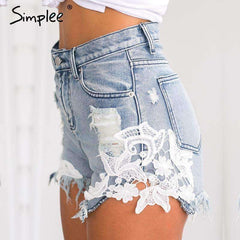 ripped pocket shorts casual - sale44