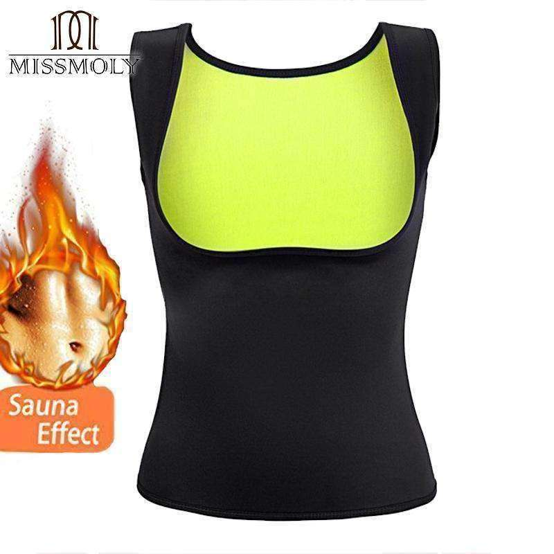 Miss Moly Women Neoprene Shapewear Push Up Vest Waist ... - sale44