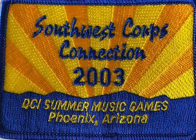 2003 Southwest Corps Connection Patch