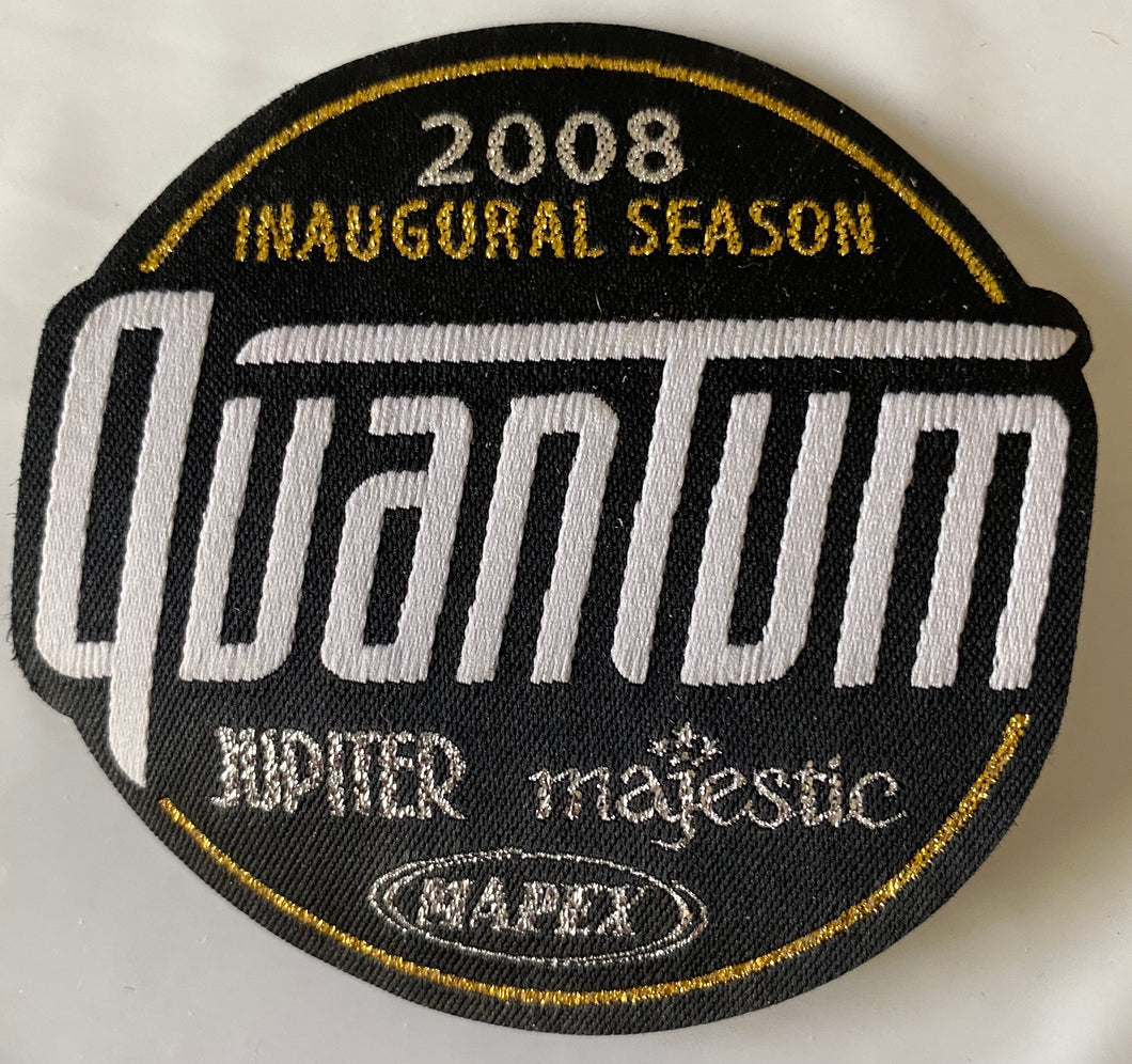 2008 Inaugural Season Quantum Patch