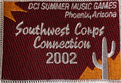 2002 Southwest Corps Connection Patch