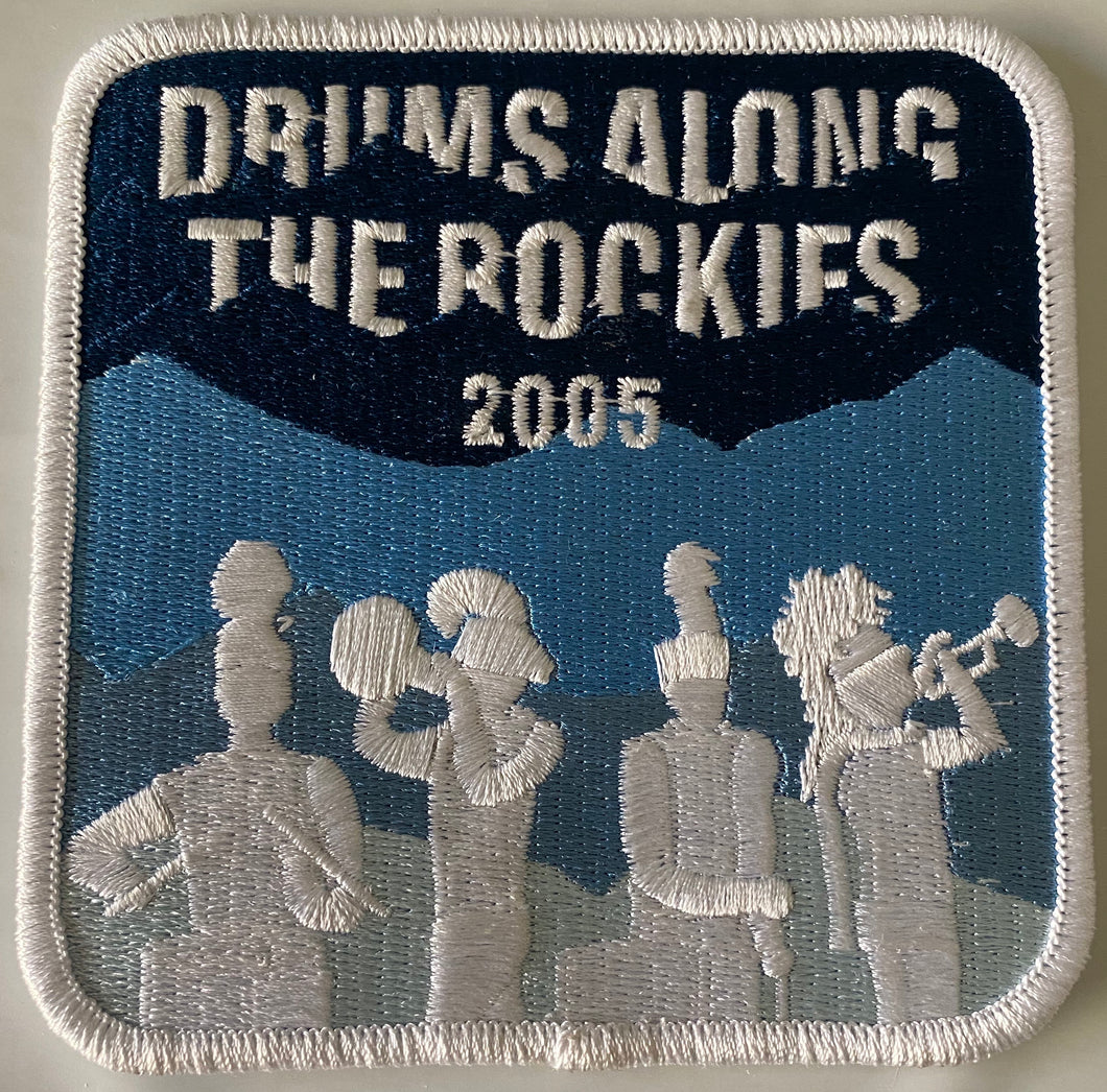 2005 Drums Across the Rockies Patch