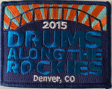 2015 Drums Across the Rockies Patch