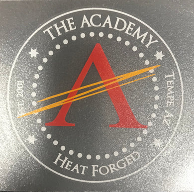 Heat Forged Sticker