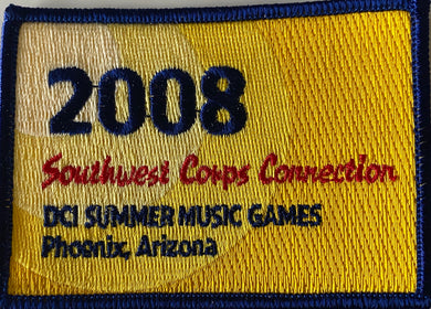 2008  Southwest Corps Connection Patch