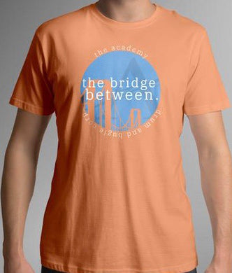 the bridge between. circle tee
