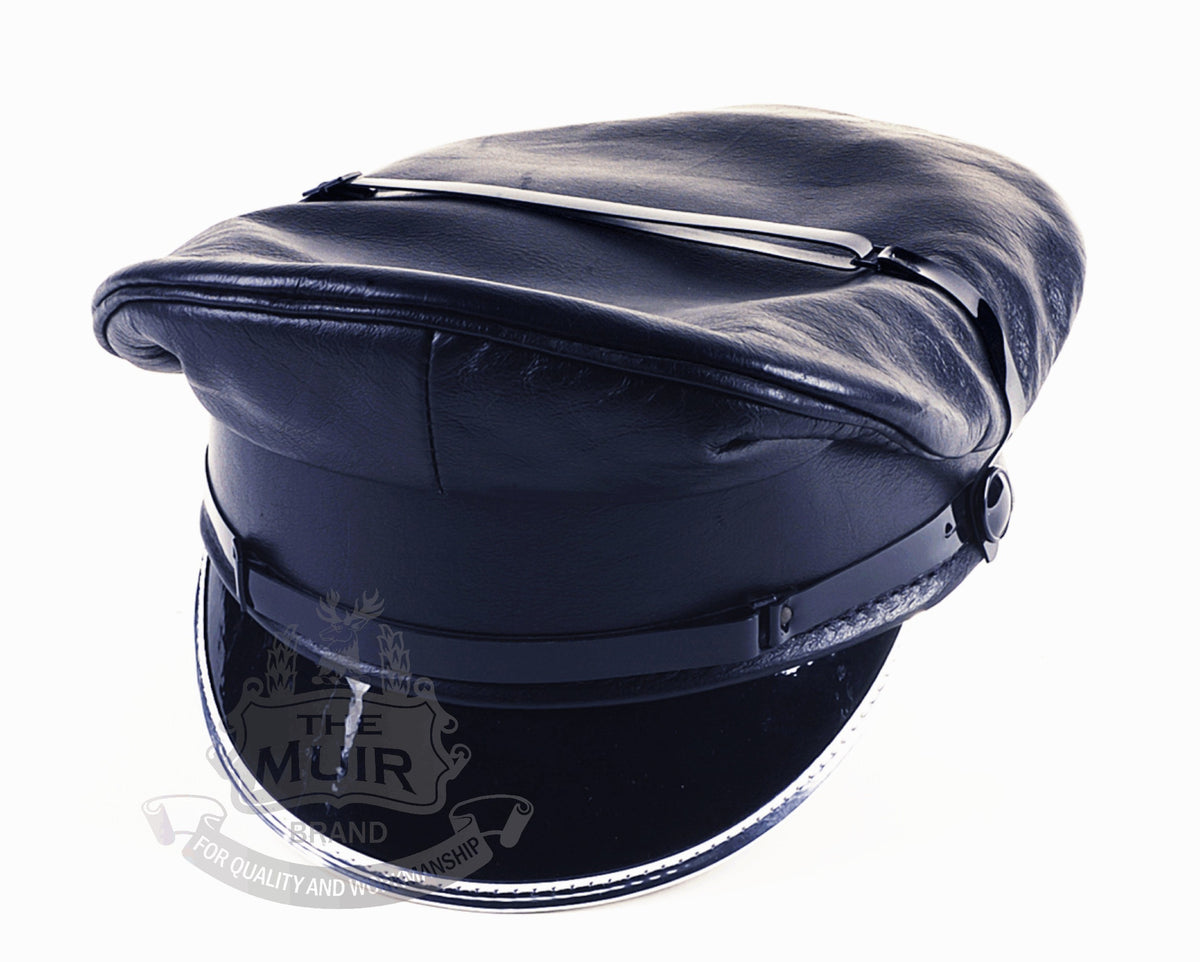 THE MUIR LEATHER CAP