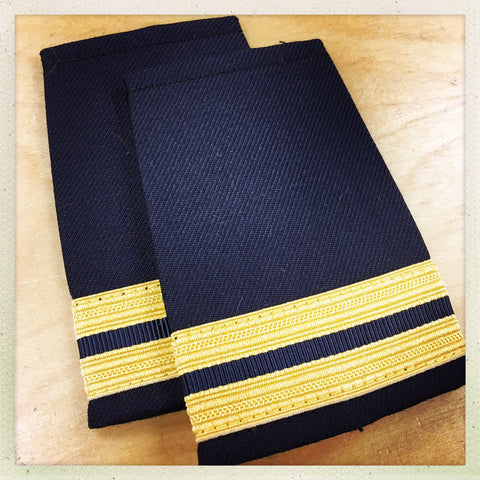 OAFC EPAULETTE - 2 BAR DISTRICT CHIEF
