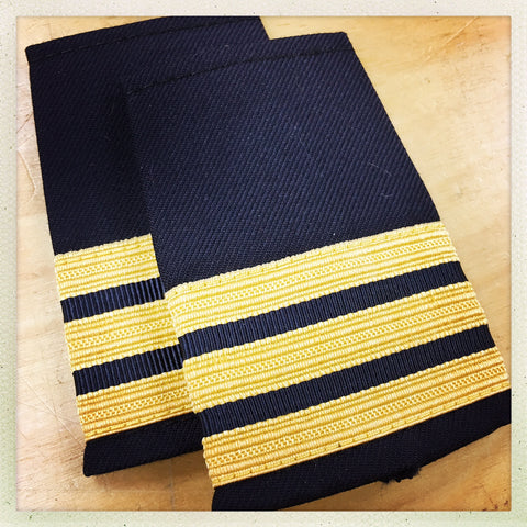OAFC EPAULETTE - 3 BAR ASSISTANT DEPUTY CHIEF
