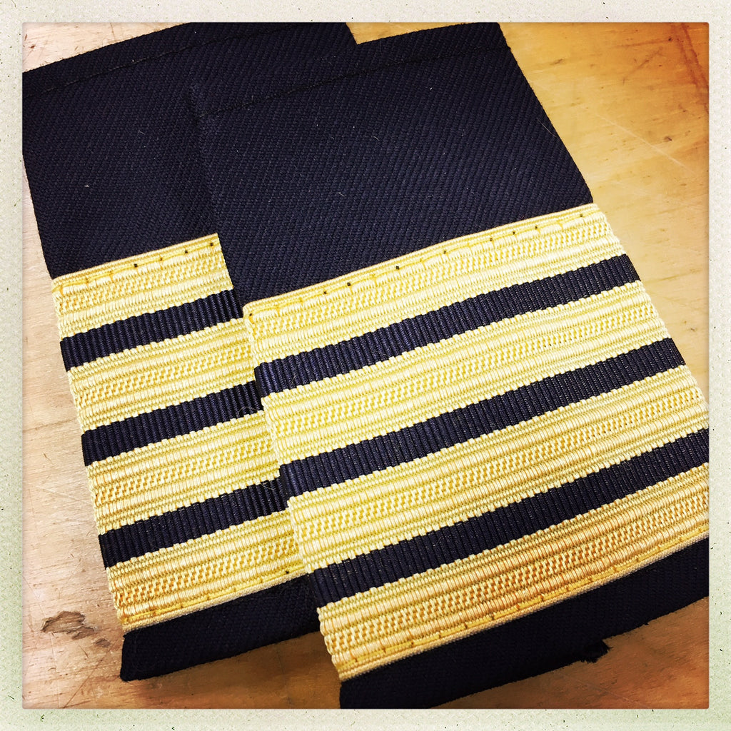 OAFC EPAULETTE - 4 BAR DEPUTY CHIEF