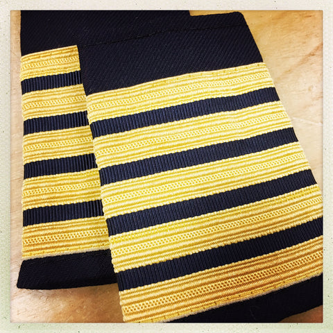 OAFC EPAULETTE - 5 BAR CHIEF