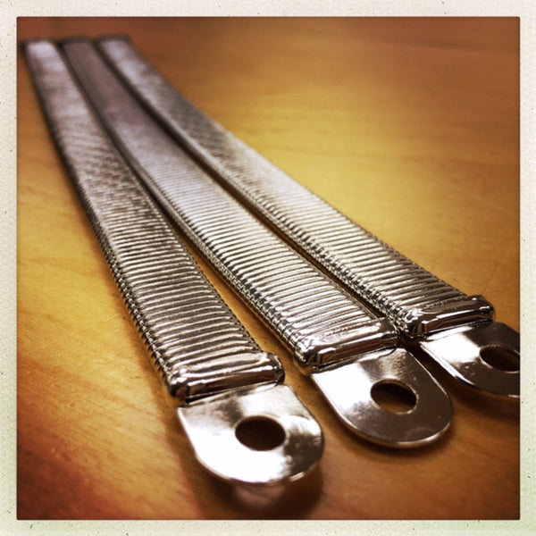 EXPANSION STRAPS - SILVER