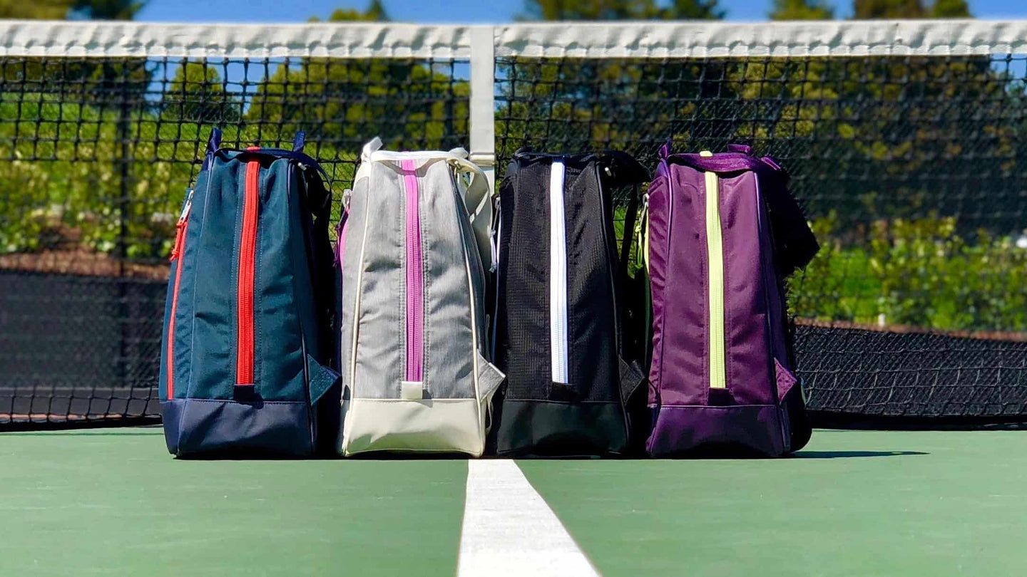 Doubletake tennis bag and tote converts to backpack
