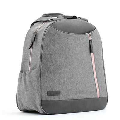 Melbourne tennis bag in grey and blush