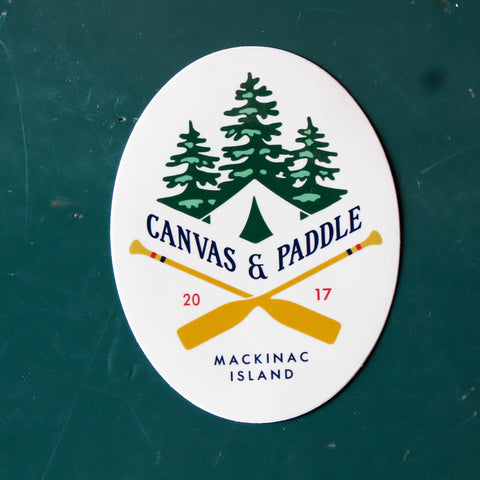 Canvas & Paddle Sticker