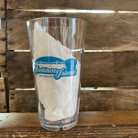 Retro Fort Pint Glass