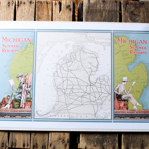 Vintage Michigan Prints