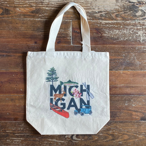 Michigan Peek-A-Boo Tote