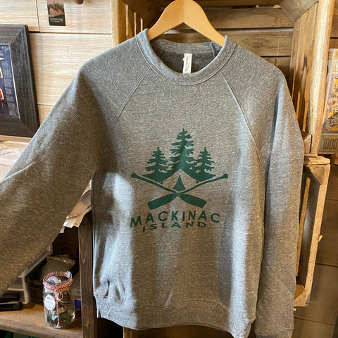 Canvas & Paddle Crew Neck Sweatshirt