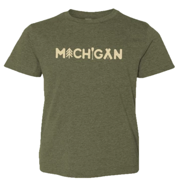 Michigan Outdoors I Youth T-shirt