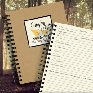 Camping Kraft Journal