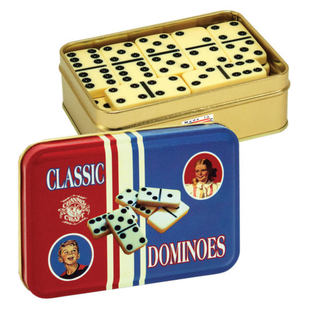 Toy Tin Domino