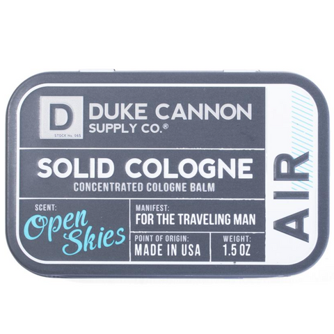 Solid Cologne | Duke Cannon