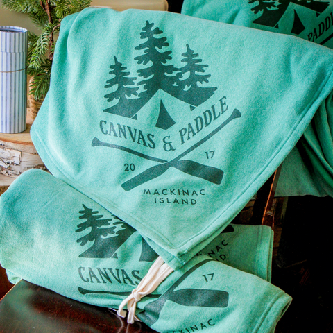 Canvas & Paddle Blanket