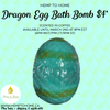 Dragon Egg Bath Bomb
