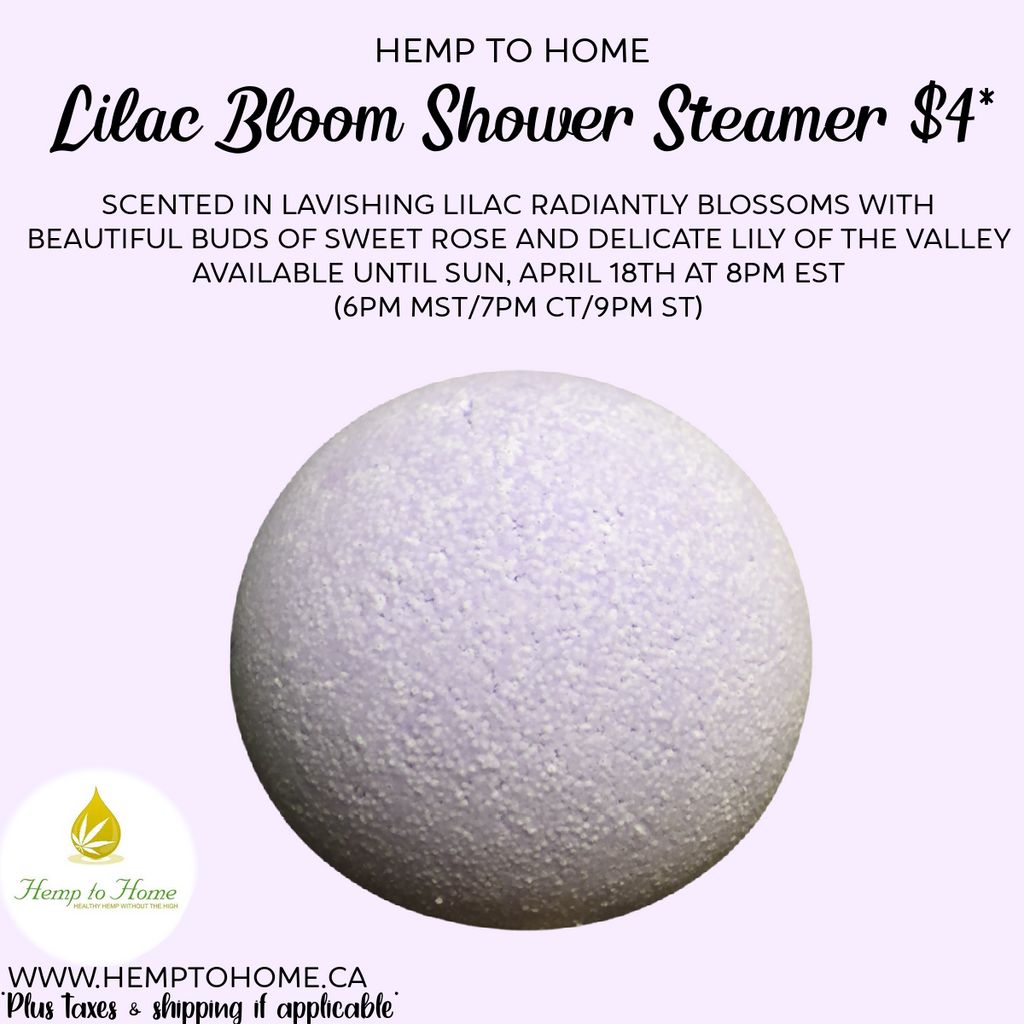 Lilac Bloom Shower Steamers