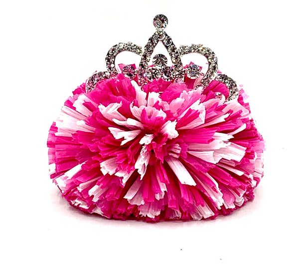 Happy Princess Pink Hair Clip