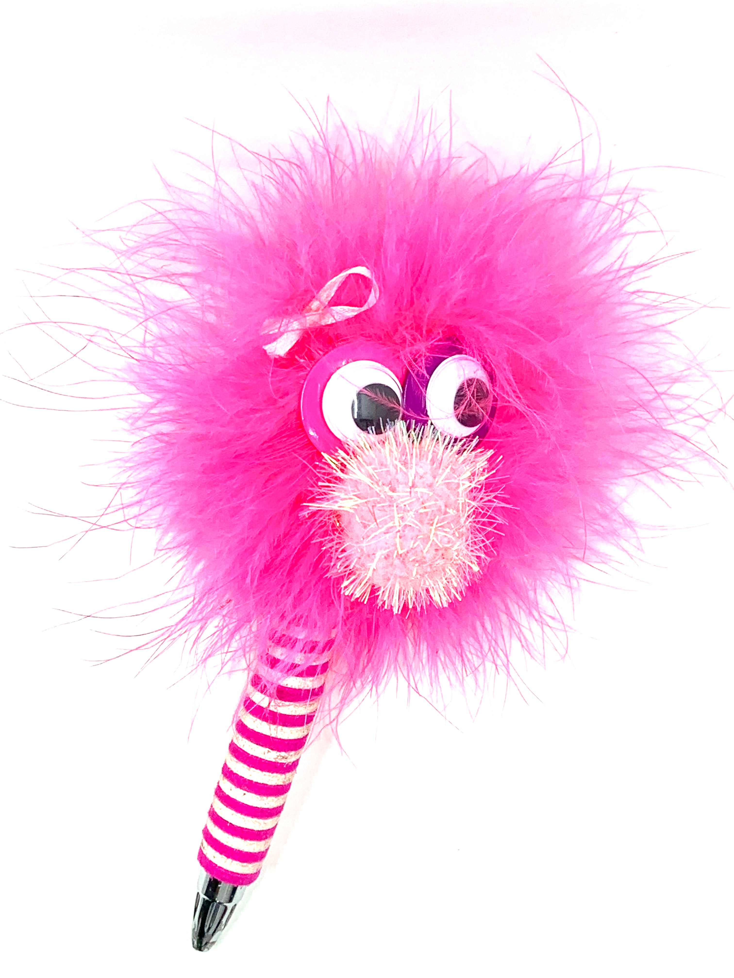 Pinky The Happy Monster Pen for Breast Cancer