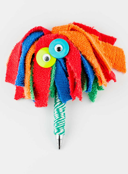 HappyHappy Everything Handmade Mircofiber Cloth Car Wash Monster Pen