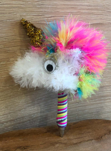 Rainbow The Happy Unicorn Pen