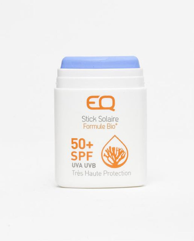 EQ eco friendly Sun Stick SPF50 blue